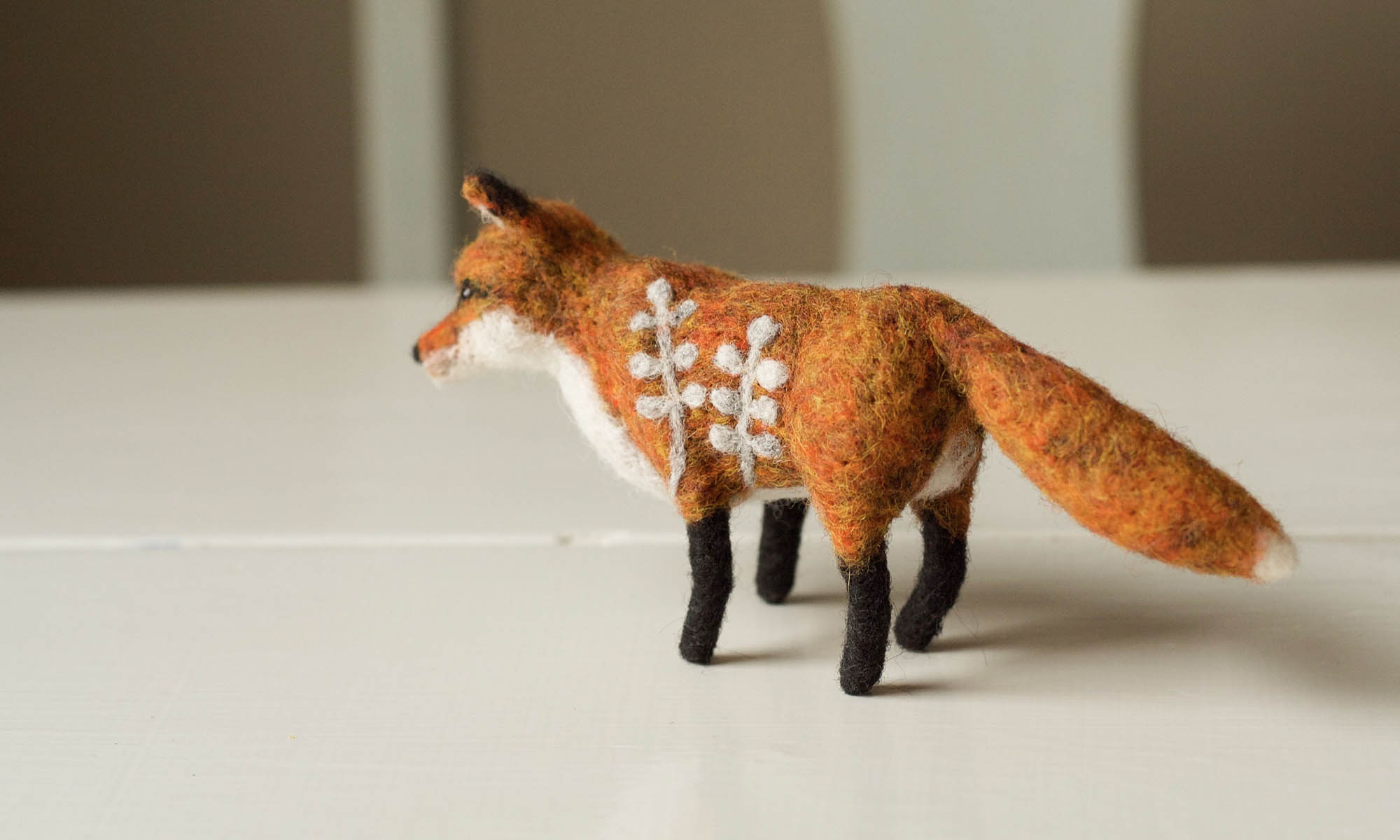 Grey Fox Felting