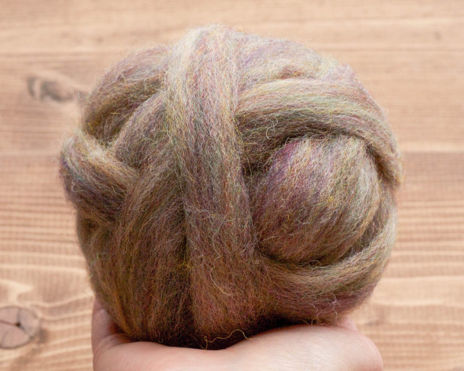 River stone wool roving for needle felting grey fox felting for Stone mineral wool