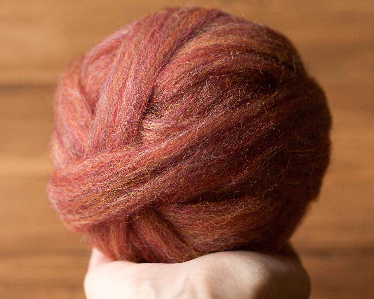 Wool Roving Supply, Needle Felting Wool in Currant Red, Brown, Pink, Wet Felting, Spinning, Chunky Yarn, Weaving, DIY, Felt, Fiber Arts